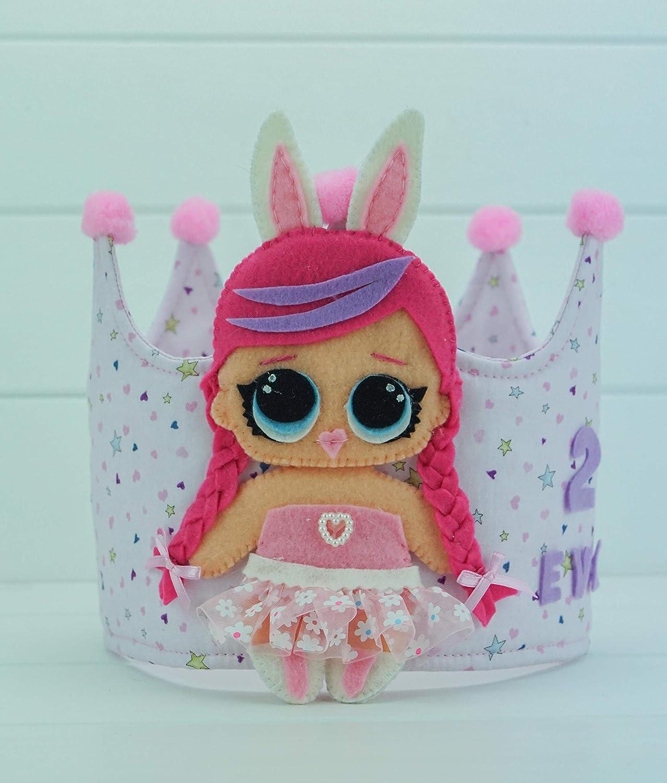 Corona Cumpleaños L.O.L: Amazon.es: Handmade