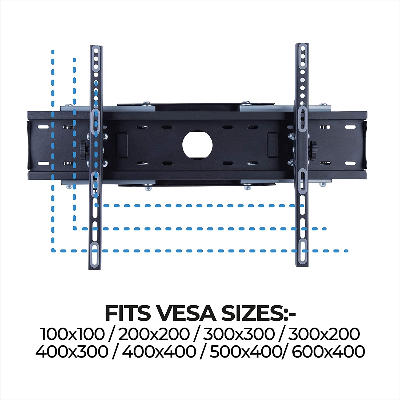 81,3 /à 177,8 cm 32-70 pour t/él/évision Basics Performance Support mural mouvement complet avec trois bras et rallonge