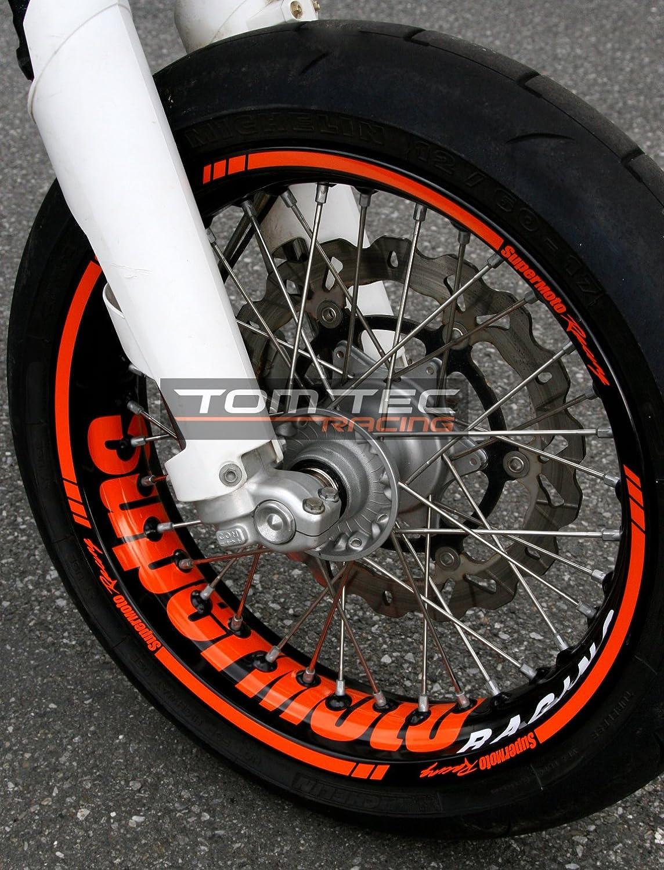 Pegatina decorativa para llantas TomTec-Racing® para KTM 690 SMC ...