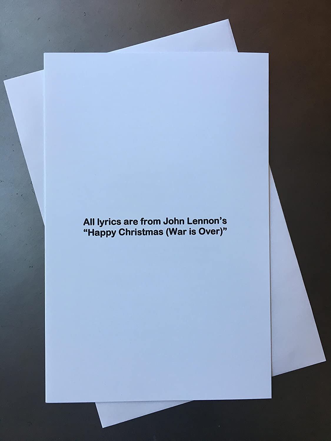Amazon.com: The Beatles John Lennon Christmas Card Drawn From His ...