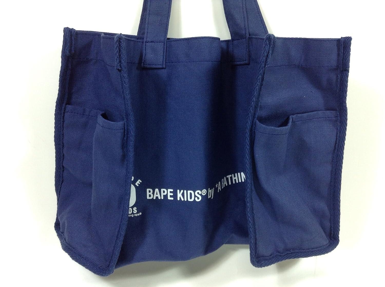 Amazon.co.jp: ベイプキッズ 紺色 トートバッグ シンプル 宝島社 ブランドムック 特別付録(ki,2507) おもちゃ