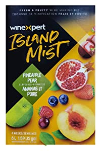 Midwest Homebrewing and Winemaking Supplies FBA_3843115 Pineapple Pear Pinot Grigio (Island Mist)