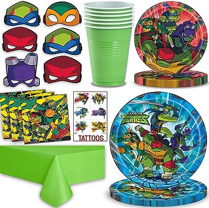 Amazon Com Teenage Mutant Ninja Turtles Party Supplies For 16