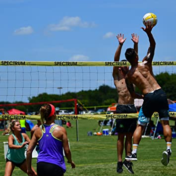 Park Sun Sports Spectrum Classic Portable Professional Outdoor Volleyball Net System Blue Nets Amazon Canada