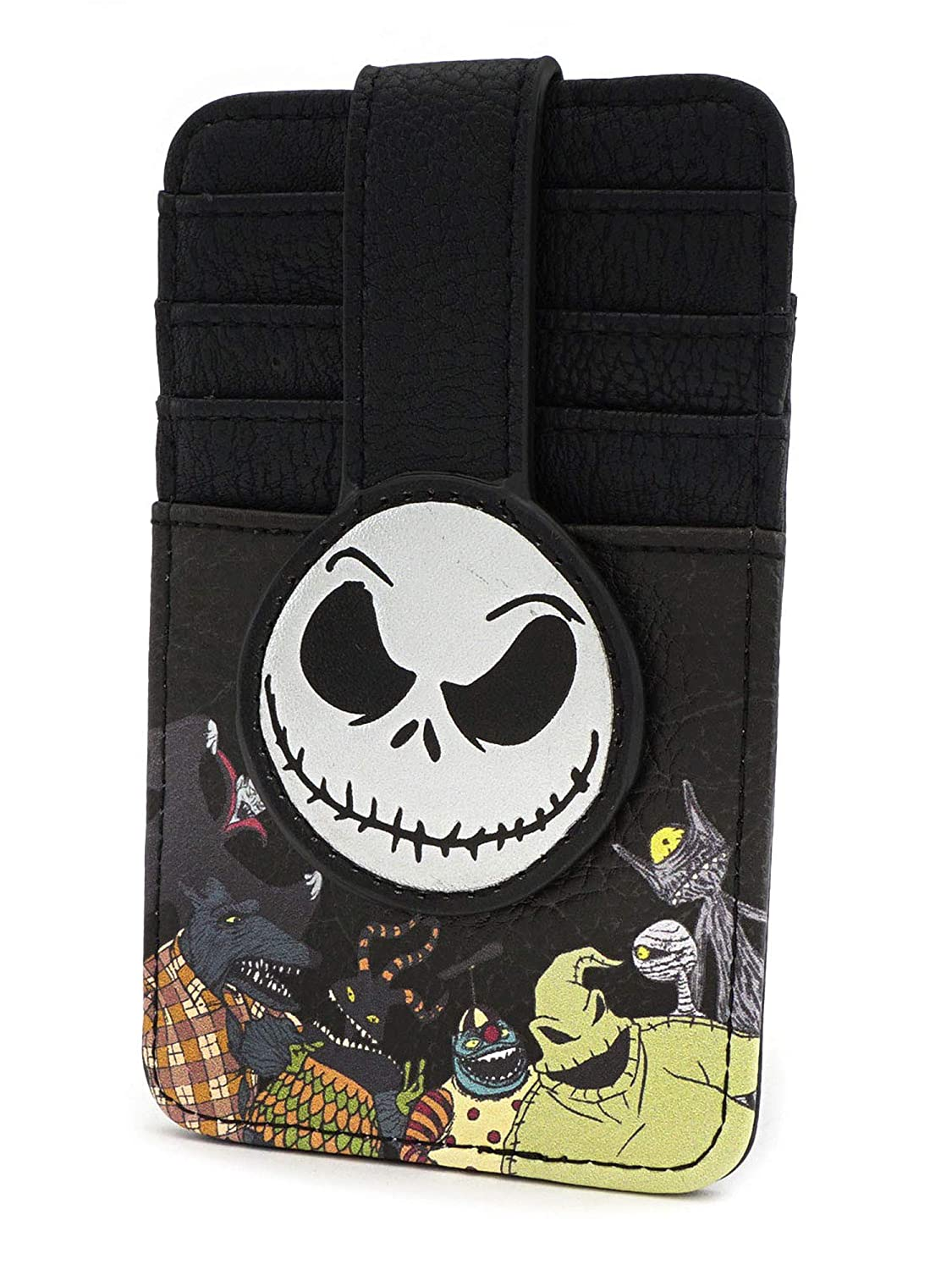 Loungefly Nightmare Before Christmas Jack Cardholder Wallet , Black , Small