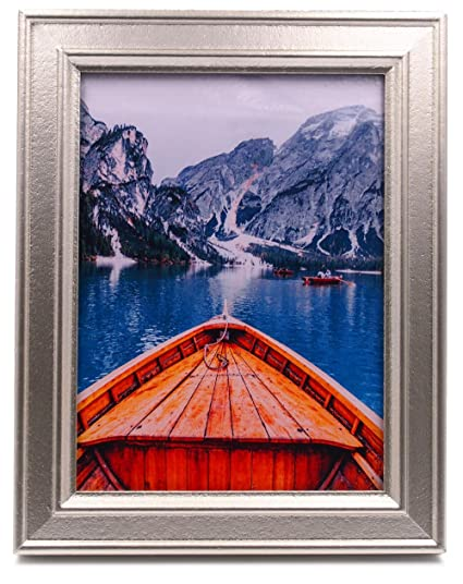 Amazon Zingvic 6x8 Wood Picture Frame With Glass Champagne