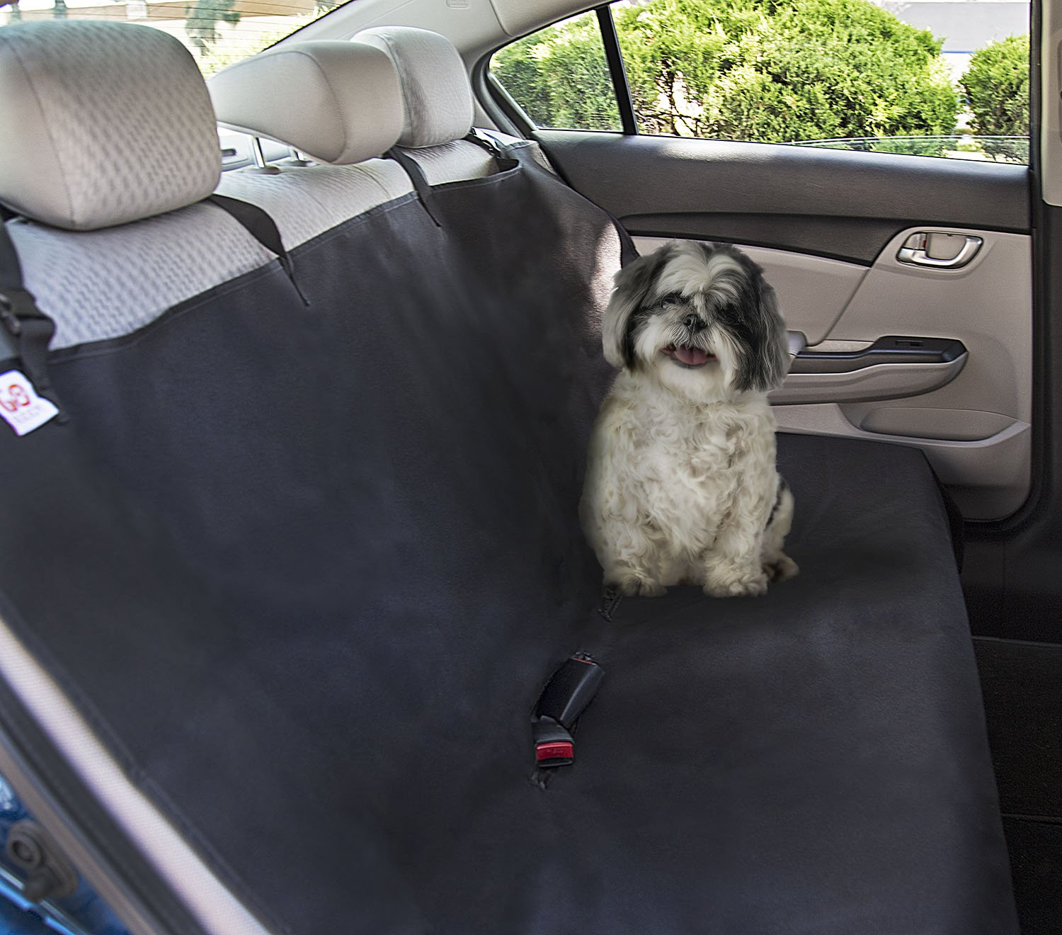 Go Buddy Hammock Style Waterproof Dog Car Seat Cover for Trucks SUV Family Va