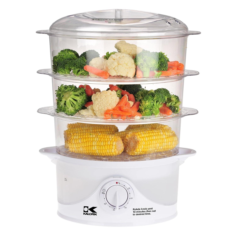 Kalorik Food Steamer, White