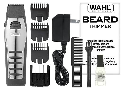 Amazon Wahl 9876 536 Rechargeablecordless Beard Trimmer Beauty