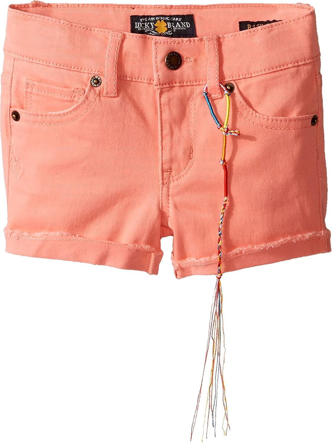 Lucky Brand Kids Womens Riley Stretch Twill Shorts Toddler