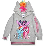 My Little Pony Girl's Rainbow Dash Roleplay Hoodie with 3D Ears, Mane and Wings
