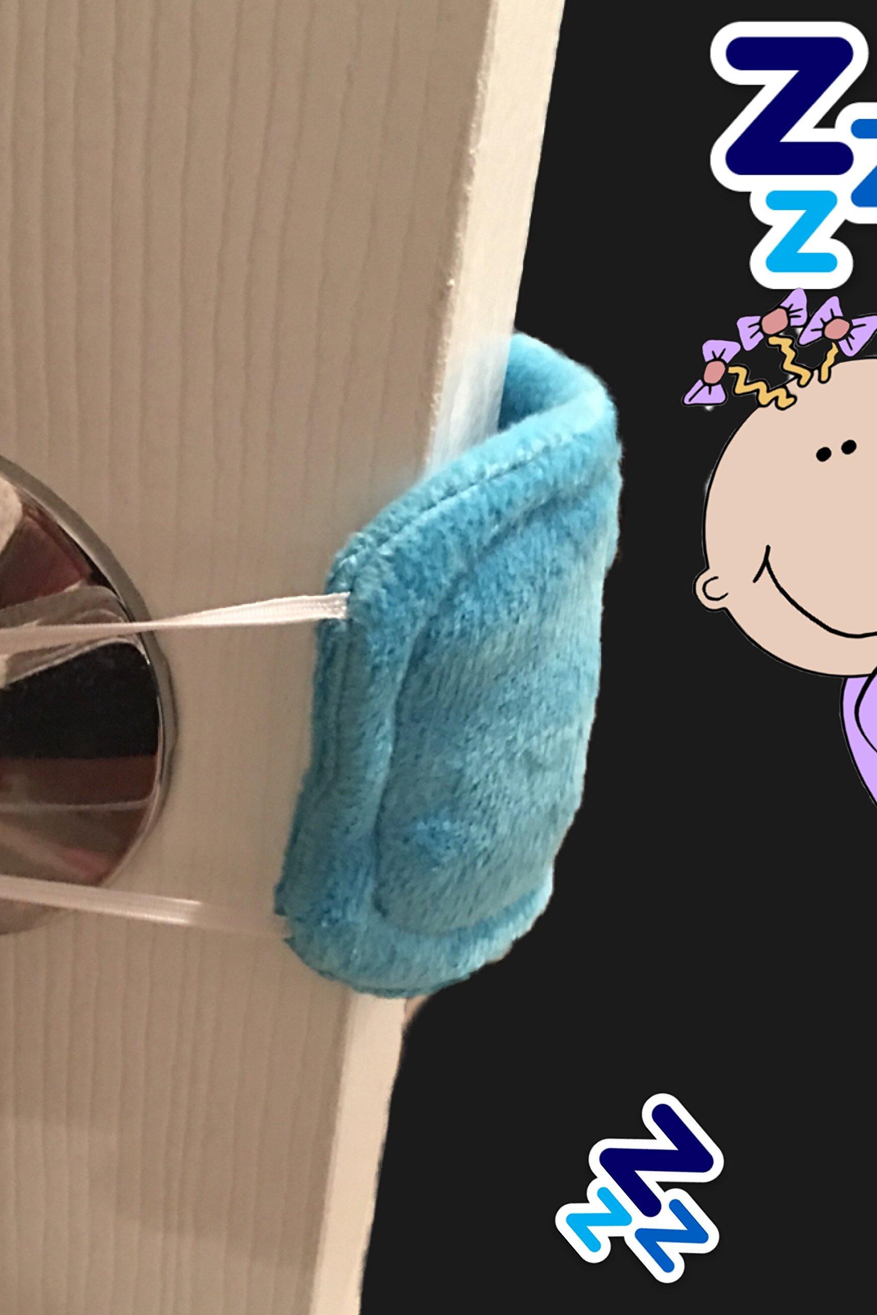 Door Muffler silencer/ Blue/ Dont wake the baby (BLUE)