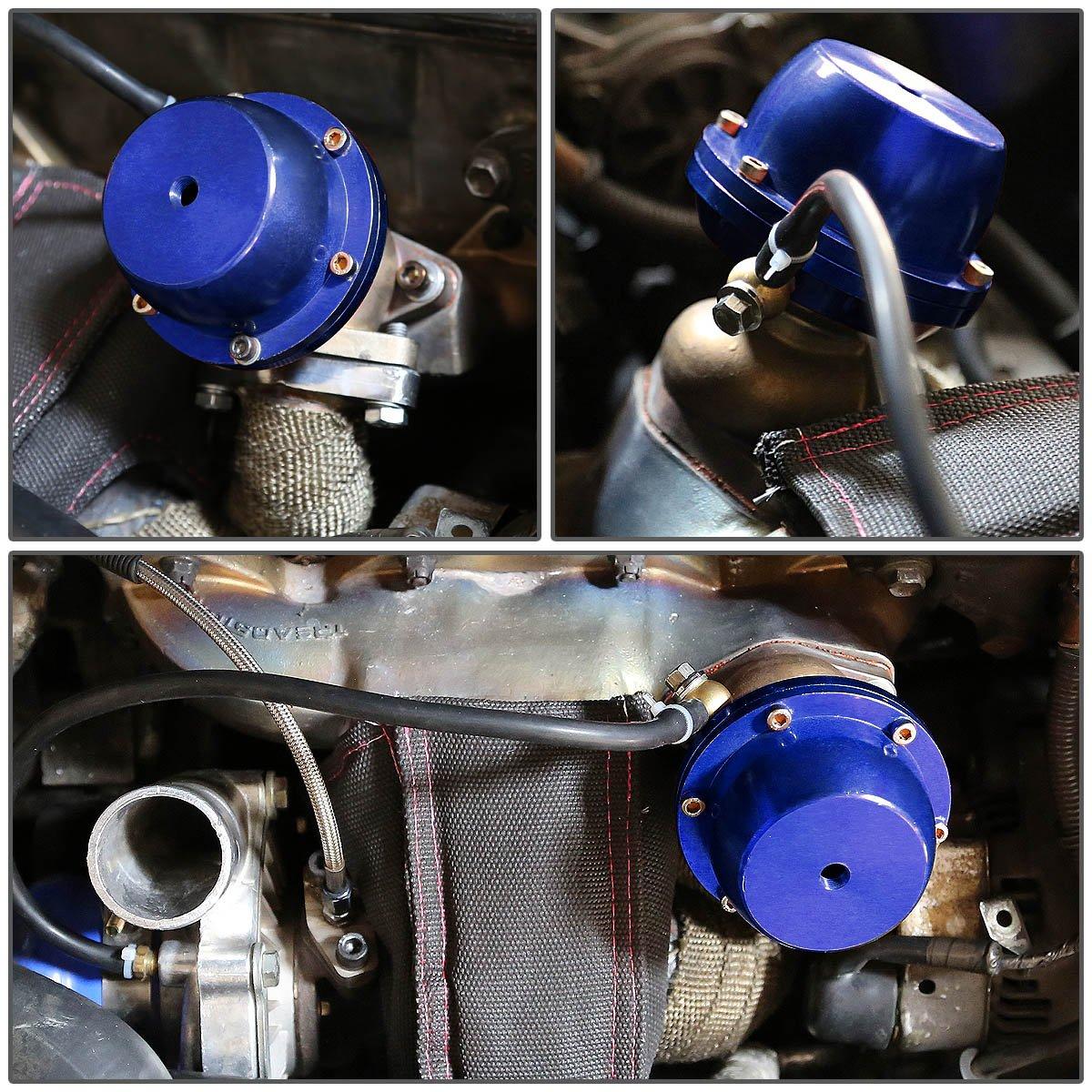Purple 38mm Bolt-on External Turbo Exhaust Manifold Wastegate