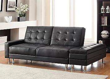 FoxHunter KMS Moderno diseño de Lujo sintética sofá Cama con ...