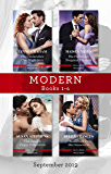 Modern Box Set 1-4/His Cinderella's One-Night Heir/His Forbidden Pregnant Princess/The Greek's Virgin Temptation/Redeemed by Her Innocen (One Night With Consequences)