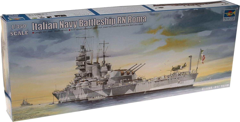 Trumpeter 1/350 Scale RN Roma Italian Navy Battleship
