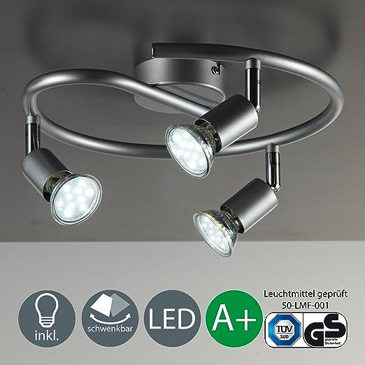 132 opinioni per Faretti spot moderni LED | Lampadine LED 3W | Illuminazione orientabile |