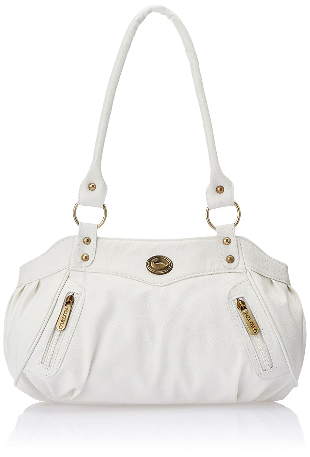 Fostelo Women's Handbag (White) (FSB-145): Amazon.in: Shoes & Handbags