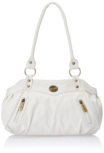 93f1eaaf0271 Fostelo Women s Handbag (White) (FJUWB022)  Amazon.in  Shoes   Handbags