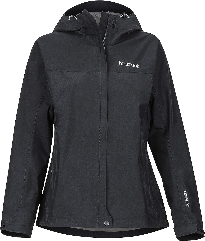 XL Marmot Wms Minimalist Jacket Chubasquero R/ígido Deep Jungle Chaqueta Impermeable Transpirable Mujer Prueba De Viento