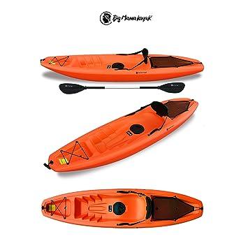 Gil Big Mama Kayak – Canoa de 266 cm + 1 pañol + 1 canalete + 1 asiento + 1 rueda (Color naranja): Amazon.es: Deportes y aire libre
