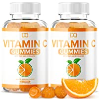 (120 Gummies) Vitamin C Chewable Gummies with Zinc and Echinacea for Immune Support for Adults Kids - Vegan Gummy Alternative to Tablet Powder Chewables, Liquid Drops, Pills Capsules Packets (2 Pack)