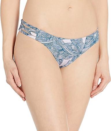Hurley Womens Quick Dry Max Compression Printed Bikini Bottom