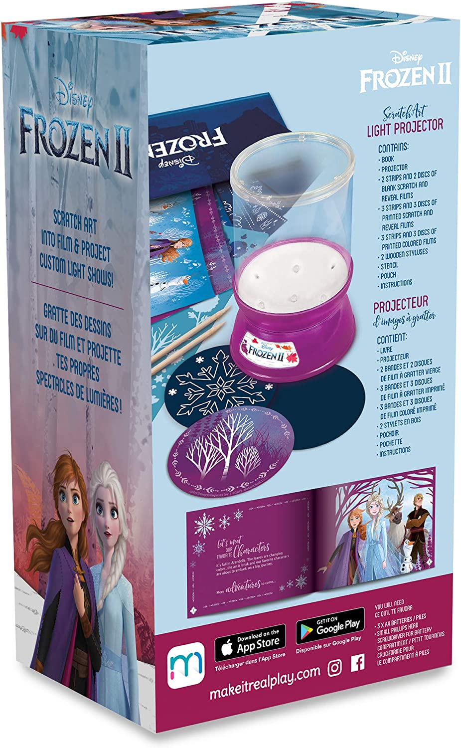 Make It Real - Proyector Disney Frozen 2 Starlight - DIY Proyector ...