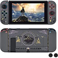 DLseego Dockable Protective Case Compatible with Nintendo Switch, Newest Pattern Cover with Anti-Scratch and Shock…