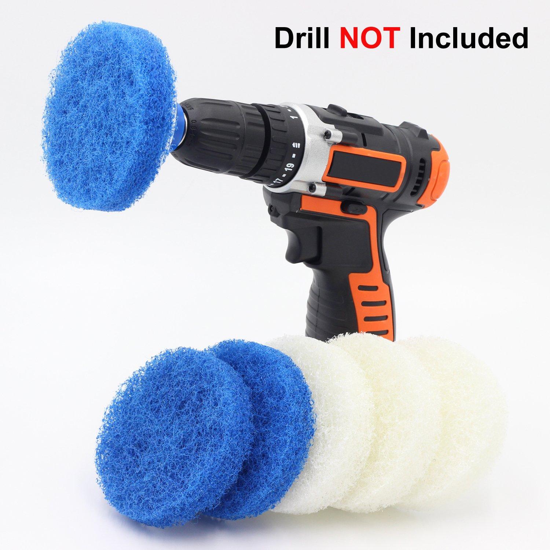 Amazon Com Drill Brush Attachment Set By Beast Brush