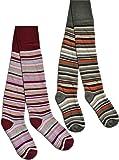 2 x Schöne warme Kinder Thermo Strumpfhosen in verschiedenen Motiven für kalte Wintertage Thermostrumpfhose