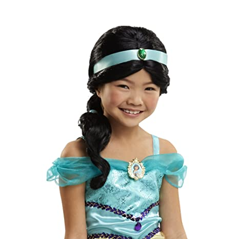 Disney Princess Jasmines Iconic Hairstyle Wig