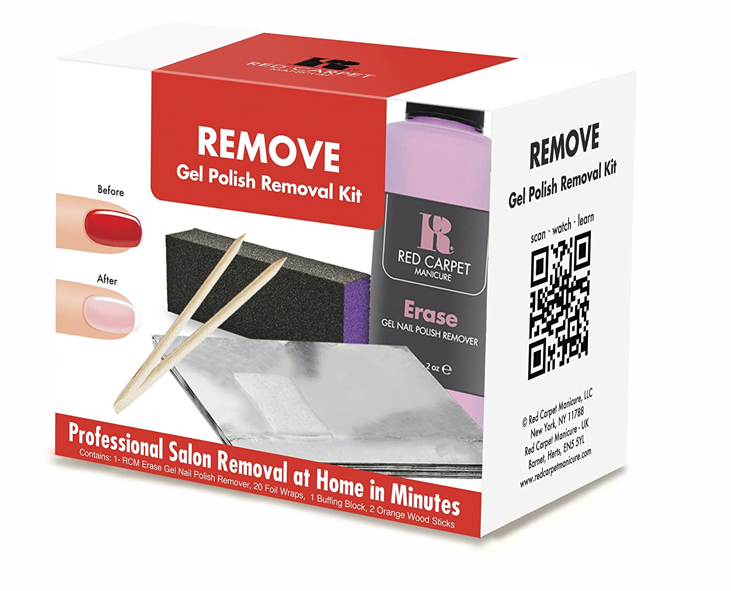 Amazon.com : Red Carpet Manicure Removal Kit : Red Carpet Gel Nail ...