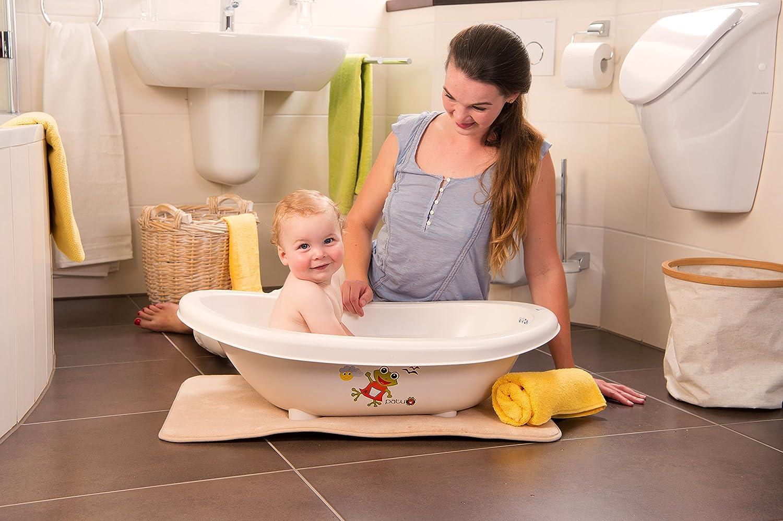 wei/ß Rotho Babydesign Baby Badewanne BIO