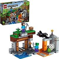 """LEGO 21166 Minecraft De """"verlaten"""" Mijn Met Poppetjes van een Spin, Steve en een Zombie, Speelgoed voor Kinderen vanaf 8…"""