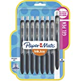 Paper Mate InkJoy Gel Pens, Medium Point, Black, 8 Count