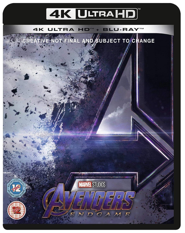 Avengers Endgame Blu Ray 4k Uhd 2019 Region Free Amazon Co Uk