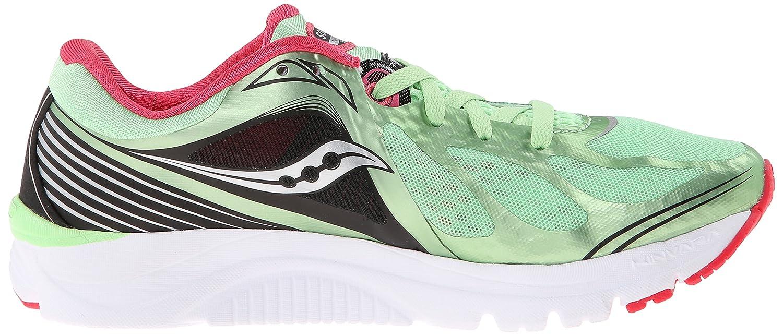 Saucony Women's Kinvara 5 Running Shoe B00KPU0BOK 5 B(M) US Mint/Cherry