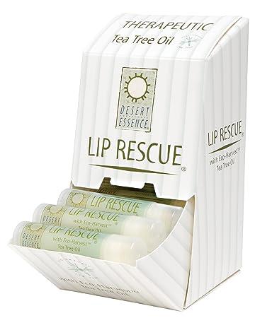 Desert Essence Lip Rescue With Tea Tree Oil, 0.15 oz