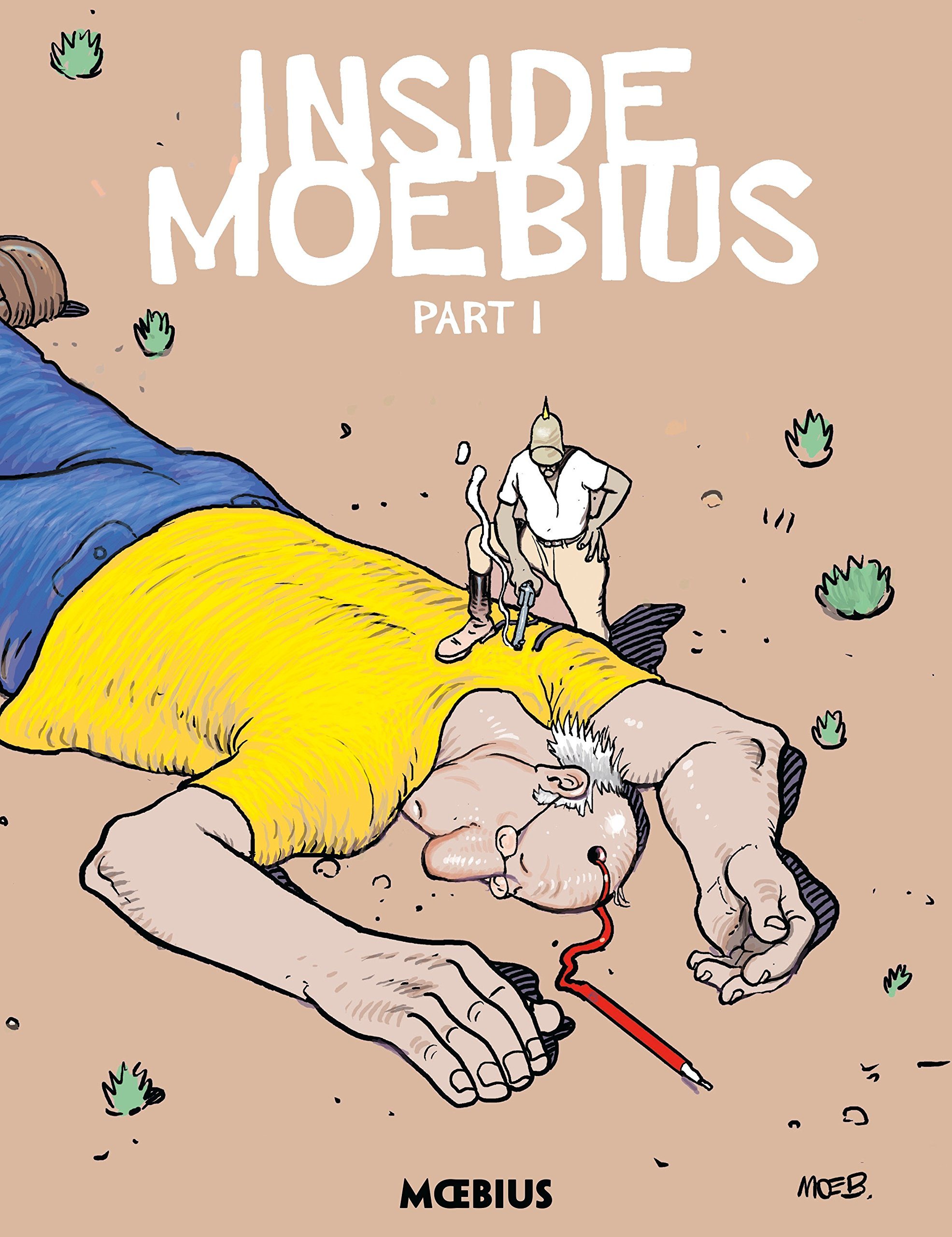 Moebius Library: Inside Moebius Part 1 by Dark Horse Books