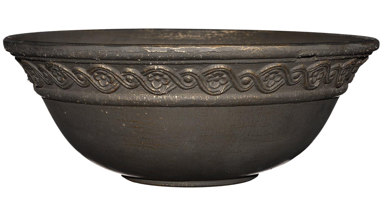 Corinthian Bowl 12 Planter, Oil Rubbed Bronze GARDENGOODZ Corinthian 12 Bronze