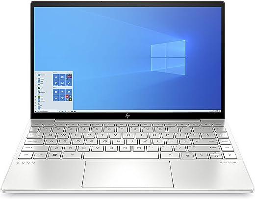 """HP – PC Envy 13-ba0006nl Notebook, Intel Core i5-1035G1, RAM 8 GB, SSD 512 GB, Grafica Intel UHD, Windows 10 Home, Schermo 13.3"""" FHD, Lettore impronte digitali, Lettore Micro SD, USB-C, HDMI, Argento"""