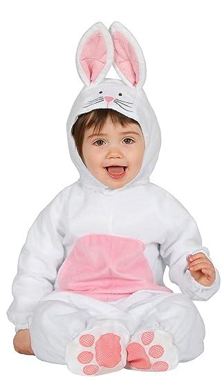 Guirca Disfraz conejito baby Talla 6-12 Meses (85981.0: Amazon.es: Juguetes y juegos