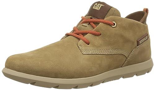 Cat Footwear Roamer Mid - Zapatos con Cordones de Cuero Hombre: Amazon.es: Zapatos y complementos