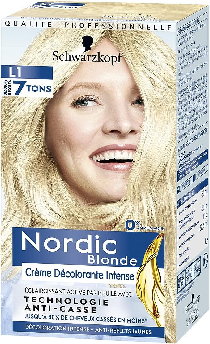 Schwarzkopf - Nordic Blonde L1 Aclarante Intensivo ...