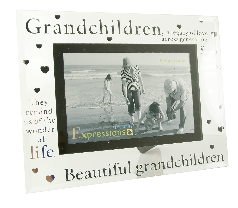 Grandchildren \'(Enkel) Bilderrahmen, aus Glas, 15.24 cm x 10.16 cm ...