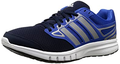 release date: 39128 a4f54 adidas Performance Men s Galactic Elite M Running Shoe,White Blue Iron  Metallic