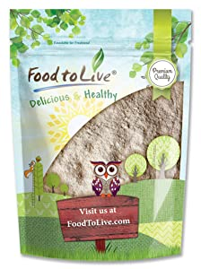 Barley Flour, 4 Pounds - Stone Ground from Whole Hulled Barley, Kosher, Vegan, Bulk, Great for Baking, Product of the USA