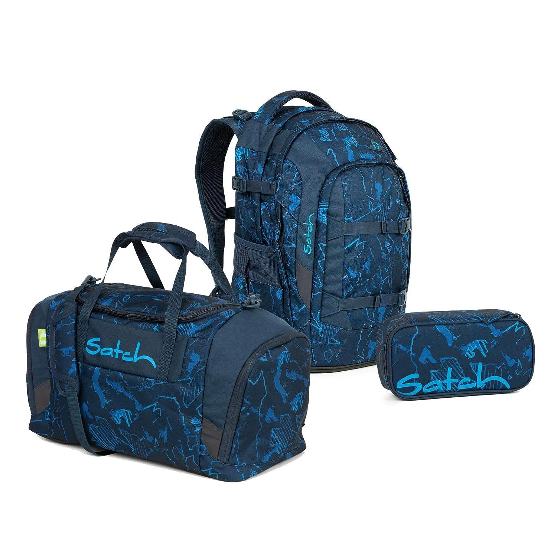 precios mas bajos Pack azul azul azul CompassRanzenfee & Koffertroll GmbH - Set de útiles Escolares azul Match Space Race 30x22x45  ahorra hasta un 50%