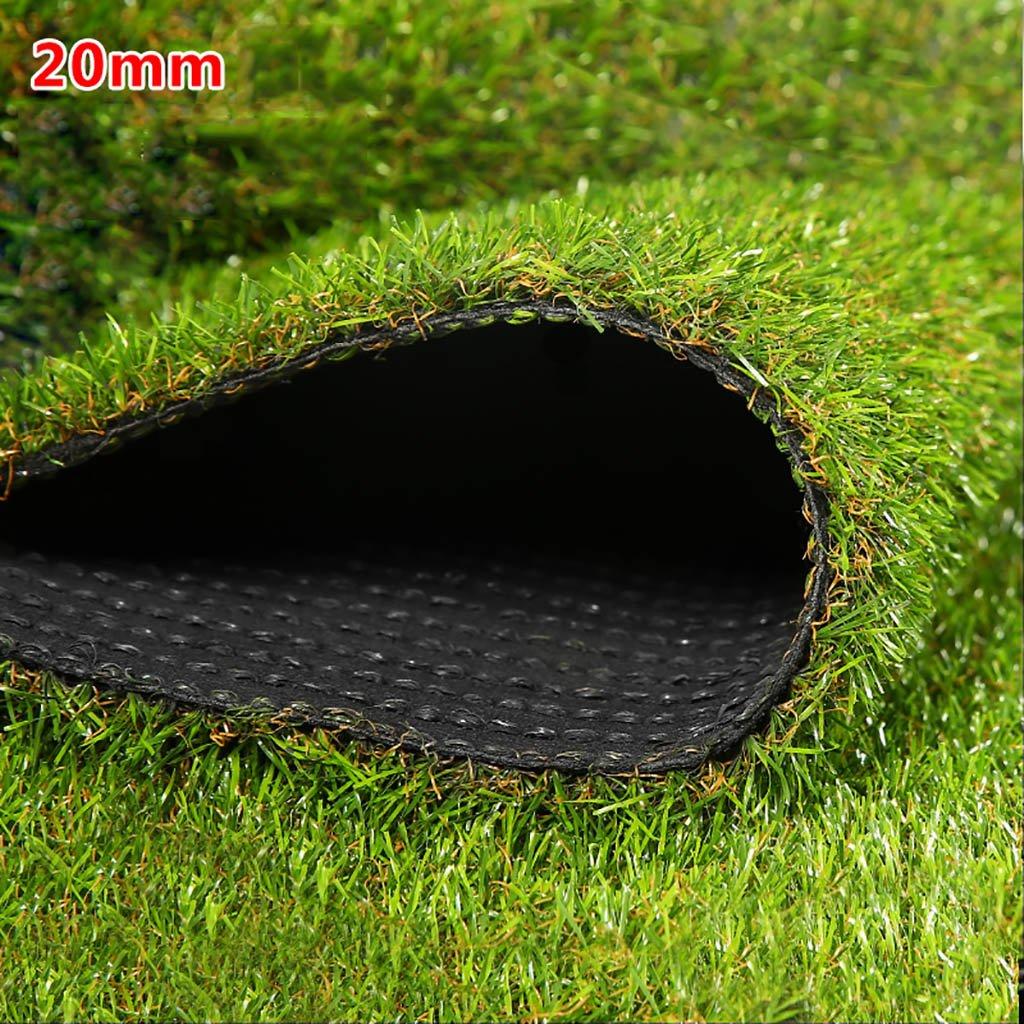 WENZHE 人工芝芝生 ガーデンターフ 人工芝高密度格安3色、幅2メートル、厚さ4種類 ( 色 : H h , サイズ さいず : 2*1m ) B076Z6KSWJ 12367 2*1m H h H h 2*1m